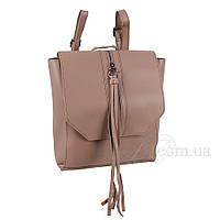 Сумка-рюкзак женская Fashion трансформер грязно-серая 408476Mg, фото 1