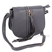 Сумка женская Fashion наплечная темно-серая 403334Dg, фото 1