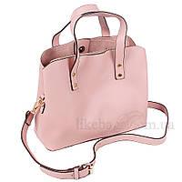 Сумка женская Fashion наплечная розовая 402020P, фото 1
