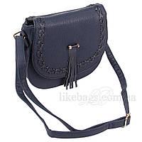 Сумка женская Fashion наплечная темно-синяя 408313Db, фото 1