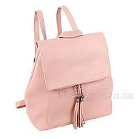 Сумка-рюкзак женская Fashion трансформер розовая 408485Lp, фото 1
