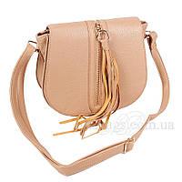 Сумка женская Fashion наплечная светло-коричневая 403334Lk, фото 1
