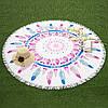 Пляжный коврик MANDALAS (Мандала) - перья