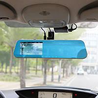"""Зеркало - видеорегистратор 4.3"""" дюйма с видеопарковкой и камерой заднего вида. Модель ЕА740, фото 1"""