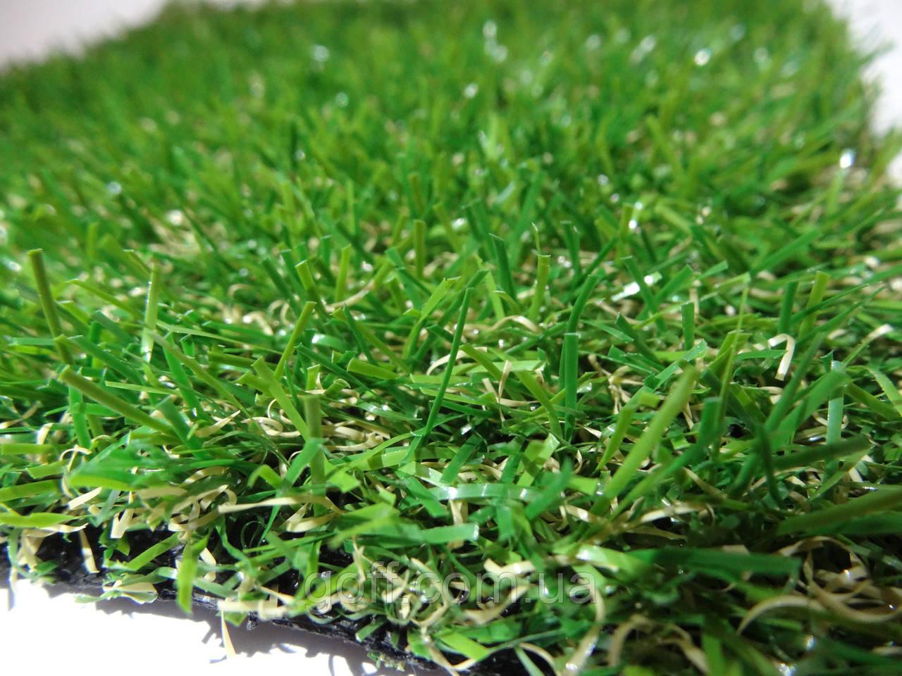 Декоративный искусственный газон 20мм