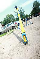 Транспортер шнековый (погрузчик, конвейер, шнек) Ø 219*8000*380В, фото 1