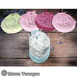 Чепчик для маленьких дівчаток (обсяг 50 см) (1250)