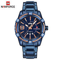 Классические мужские часы NAVIFORCE YACHT BLUE