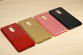 Переливающийся силиконовый чехол для Xiaomi Redmi 5 (4 Цвета)