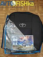 Чехли модельні  Daewoo Lanos з 1997 р. т. сірі
