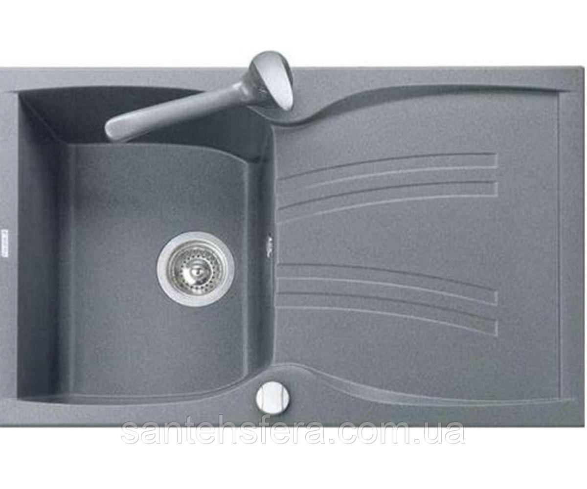 Кухонная гранитная мойка ADAMANT NEW LINE 790X500X235 серая