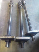 Болт фундаментный тип 2 ГОСТ 24379.1-80 диаметром от М16 до М140