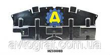 Защита бампера переднего на Mazda 6 (Мазда 6) 2008-2010