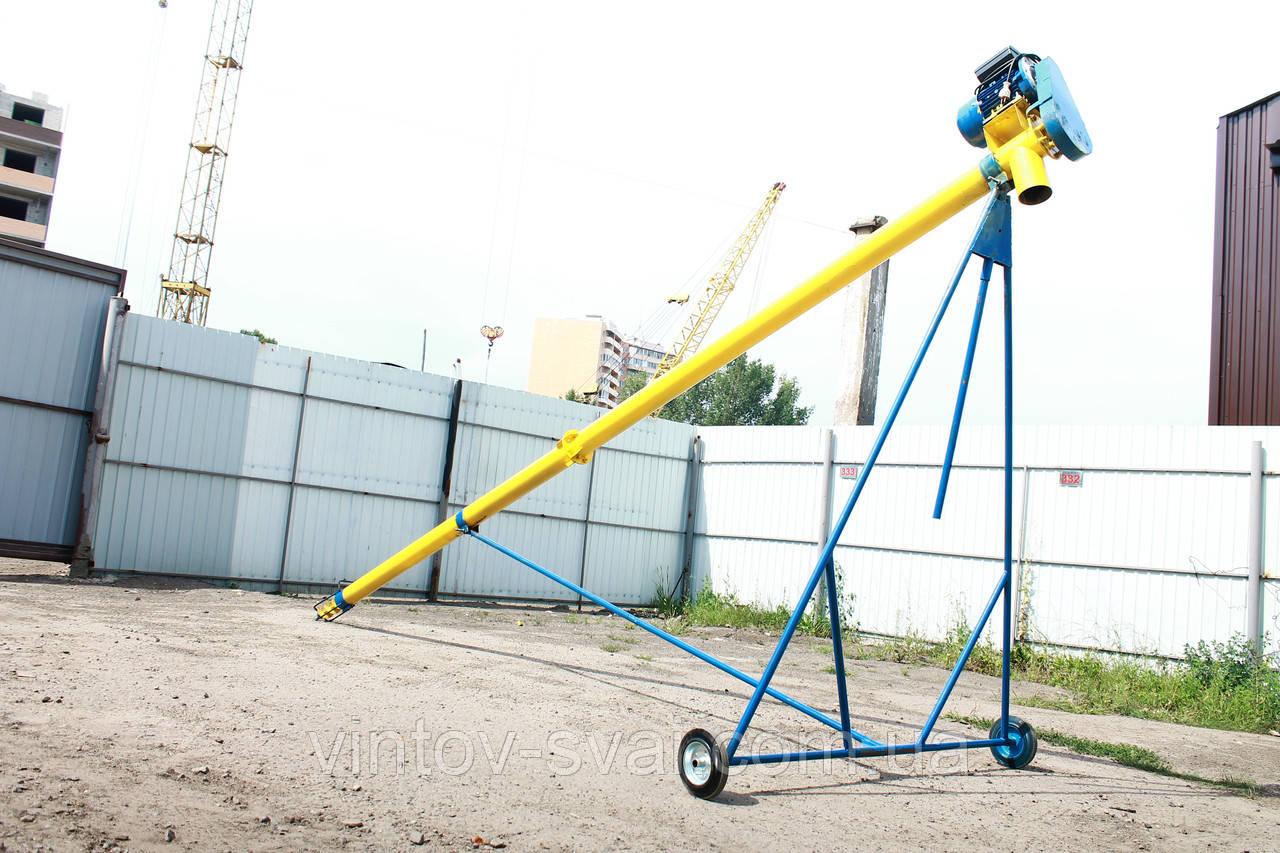 Транспортер шнековый 276 мм.4000мм. 30-60 тчас