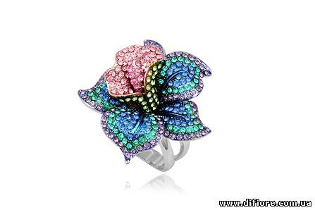 Великолепное кольцо Райский Цветок