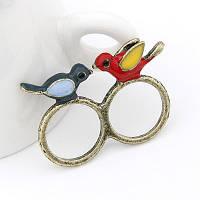 Двойное кольцо Птички