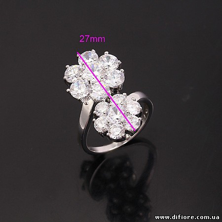 Заметное кольцо Цветы