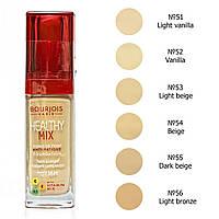 7183 Тональный крем Bourjois Healthy Mix   красная крышка