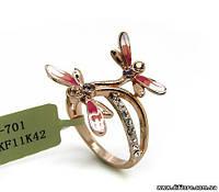 Милое кольцо со стрекозами