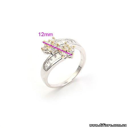 Нежное кольцо с цветами