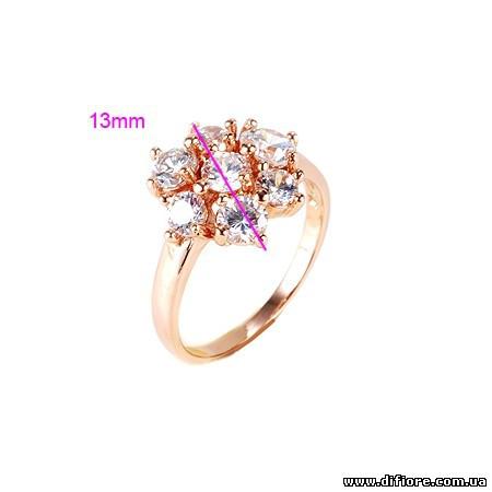 Несимметричное кольцо Цветок