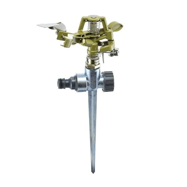 Дождеватель Presto-PS ороситель импульсный для газона металлический (8105D)