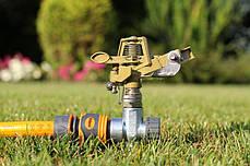 Дождеватель Presto-PS ороситель импульсный для газона металлический (8105D), фото 2