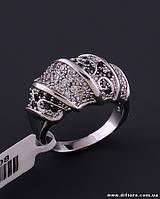 Роскошное кольцо с фианитами и марказитами