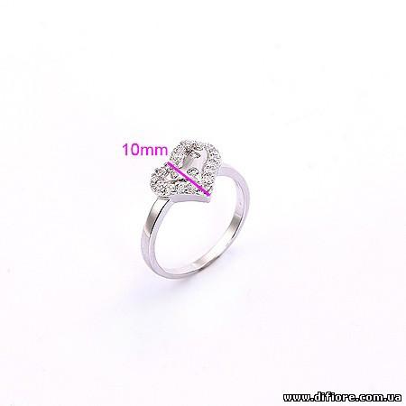 Эстетичное кольцо Сердечко