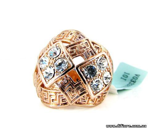 Прекрасное крупное кольцо с греским узором