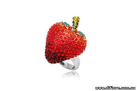 Роскошное кольцо Клубника