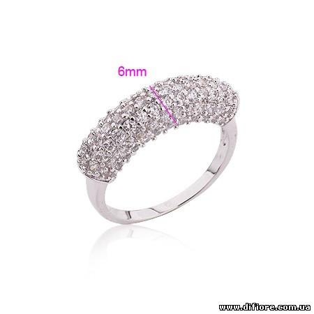 Роскошное кольцо родий