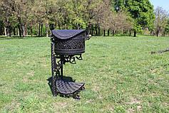 """Барбекю """"Викинг"""" 4мм, с нержавеющей решеткой-гриль, фото 2"""