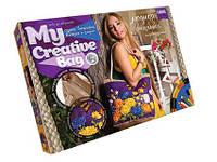 Набор для творчества My Creative Bag. Сумка вышитая лентами и бисером