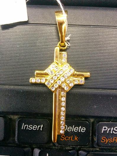 Великолепный ассиметричный кулон Крест