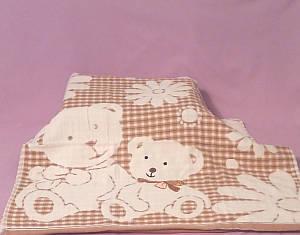 Банное полотенце с мишками
