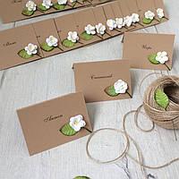 Пригласительные на свадьбу из крафт бумаги, порезка бумаги на любой формат /кг