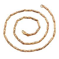 Необычная цепочка Sofique с резными длинными цилиндрическими звеньями 41038, фото 1