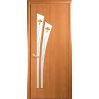 Двери МДФ Лилия ольха 80