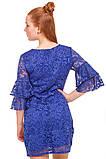 Нарядное платье  из кружевного гипюра для девочки 140-152р, фото 3