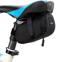 Сумочка велосипедная под седло B-SOUL (BLACK)