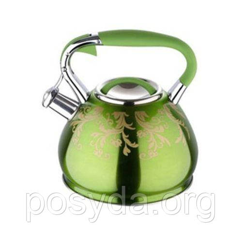 Чайник со свистком Wellberg WB-6385 - 4,5л