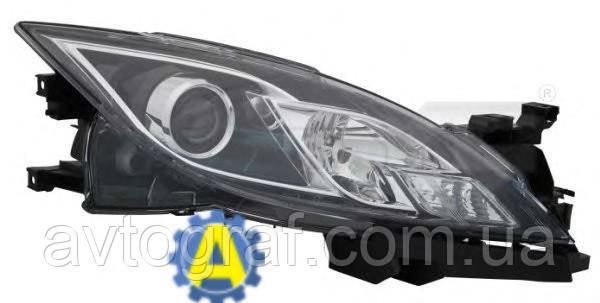 Фара левая и правая на Mazda 6 (Мазда 6) 2008-2010