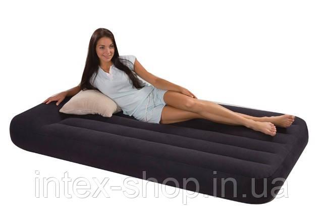 Надувная кровать Intex 67740 (203 х 102 х 38 см)