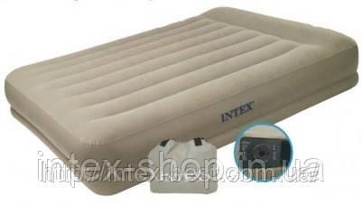 Надувная кровать Intex 67742 99-191-38 см., фото 2