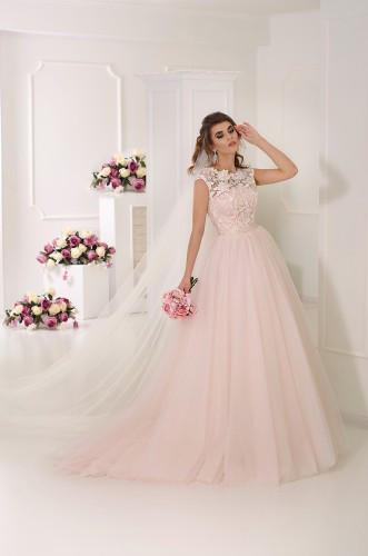 46163f17c8debb9 Пудровое свадебное платье: 7 000 грн. - Свадебные платья Киев ...