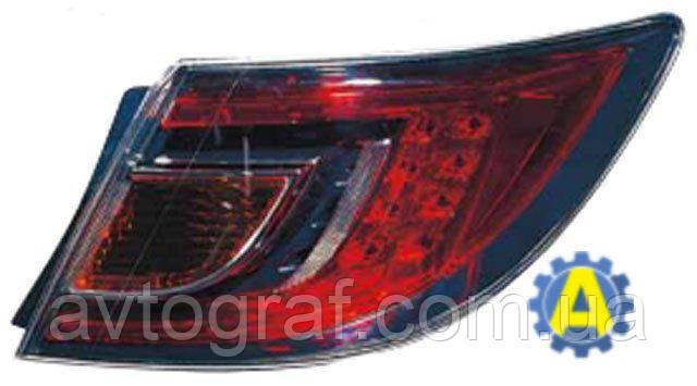 Фонарь задний левый и правый на Mazda 6 (Мазда 6) 2008-2010