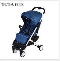 YOYA PLUS Dark Blue Прогулочная детская коляска-трансформер 2 в 1 алюминиевая