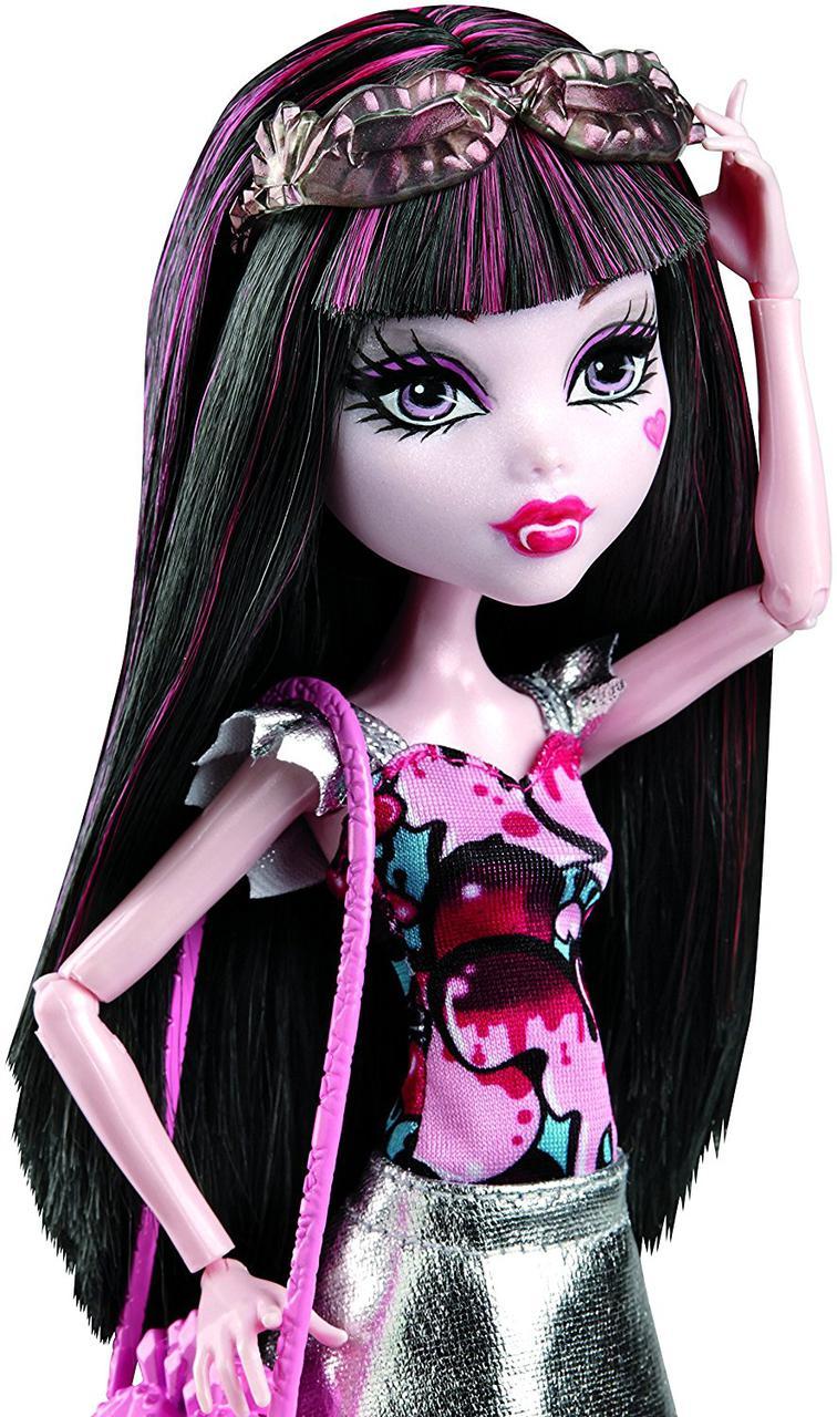 Кукла Monster High Дракулаура серия бу Йорк Boo York, Boo York Frightseers Draculaura