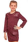 Платье приталенного силуэта с рукавом 7/8 для девочки 134-152р, фото 2
